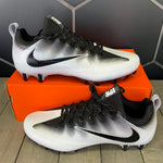 New W/ Box! Nike Vapor Untouchable Pro TB White Black Football Cleats (Multiple Sizes)