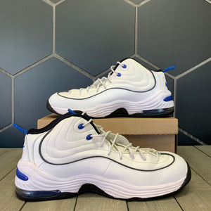 Used W/O Box! 2016 Nike Air Penny 2 Home Orlando White Blue Shoe Size 15