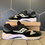 Used W/O Box! Saucony x Sneaker Freaker Grid 9000 Bushwhacker Black Teal Shoes Size 11