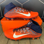 New! Nike Vapor Untouchable 2 PF Orange Navy Cleats (Multiple Sizes)