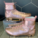 New W/ Box! Under Armour C1N Cam Newton MC Rose Gold Cleats (Multiple Sizes)
