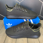 New W/ Box! Adidas Tubular Shadow Black Camo Accent Shoes (Multiple Sizes)