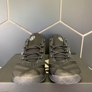 New W/ Box! Adidas SM Harden B/E 2 Team Black Silver Basketball Shoes (Multiple Sizes)