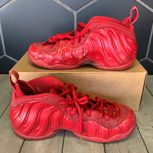 Used W/O Box! Nike Air Foamposite Pro Gym Red Shoe Size 9.5