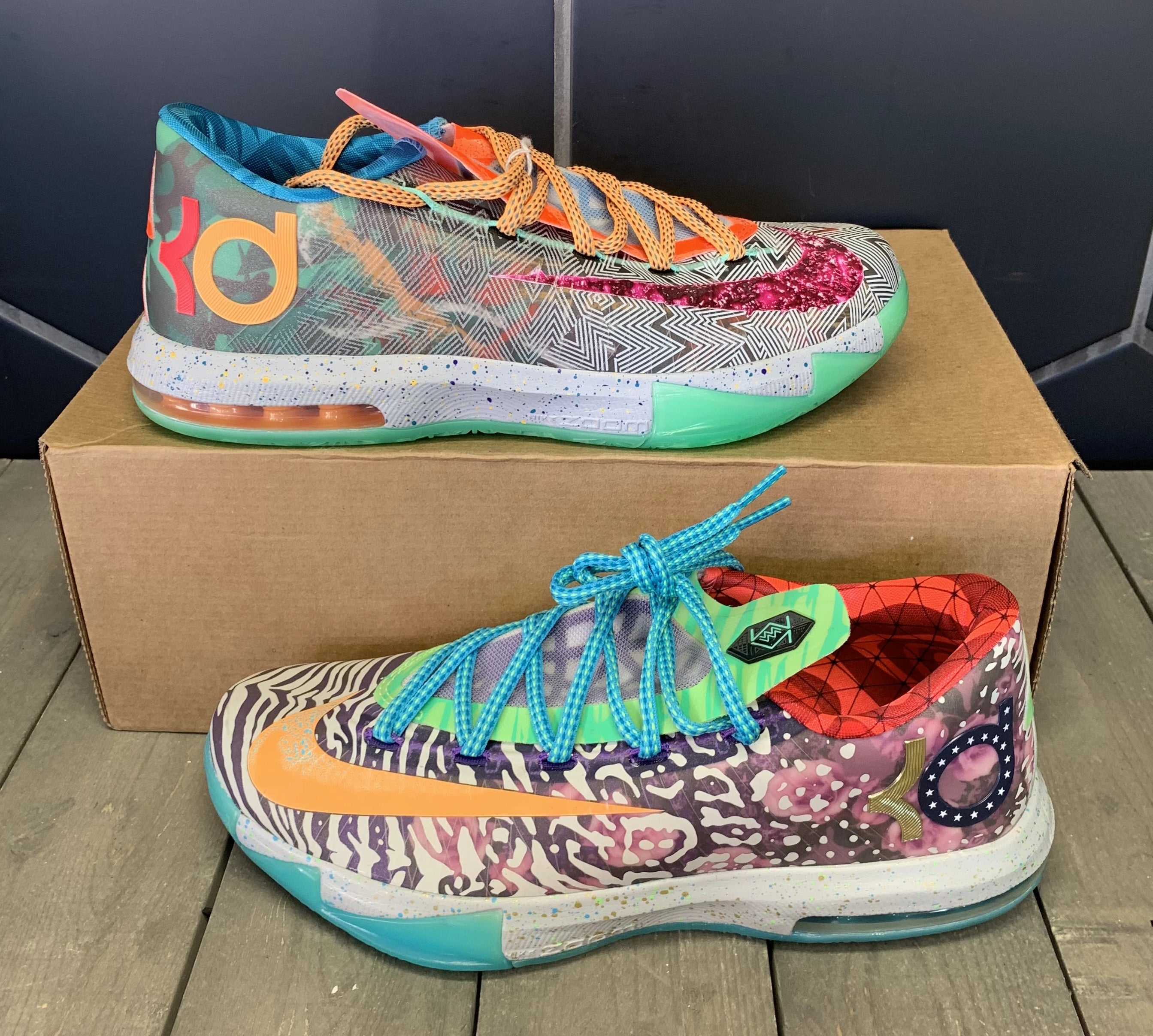 New W/O Box! Nike Kevin Durant 6 VI What The KD Size 8