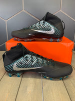 New W/ Box! Nike Vapor Untouchable 2 Black Teal Green Silver Football Cleats (Mutlipe Sizes)