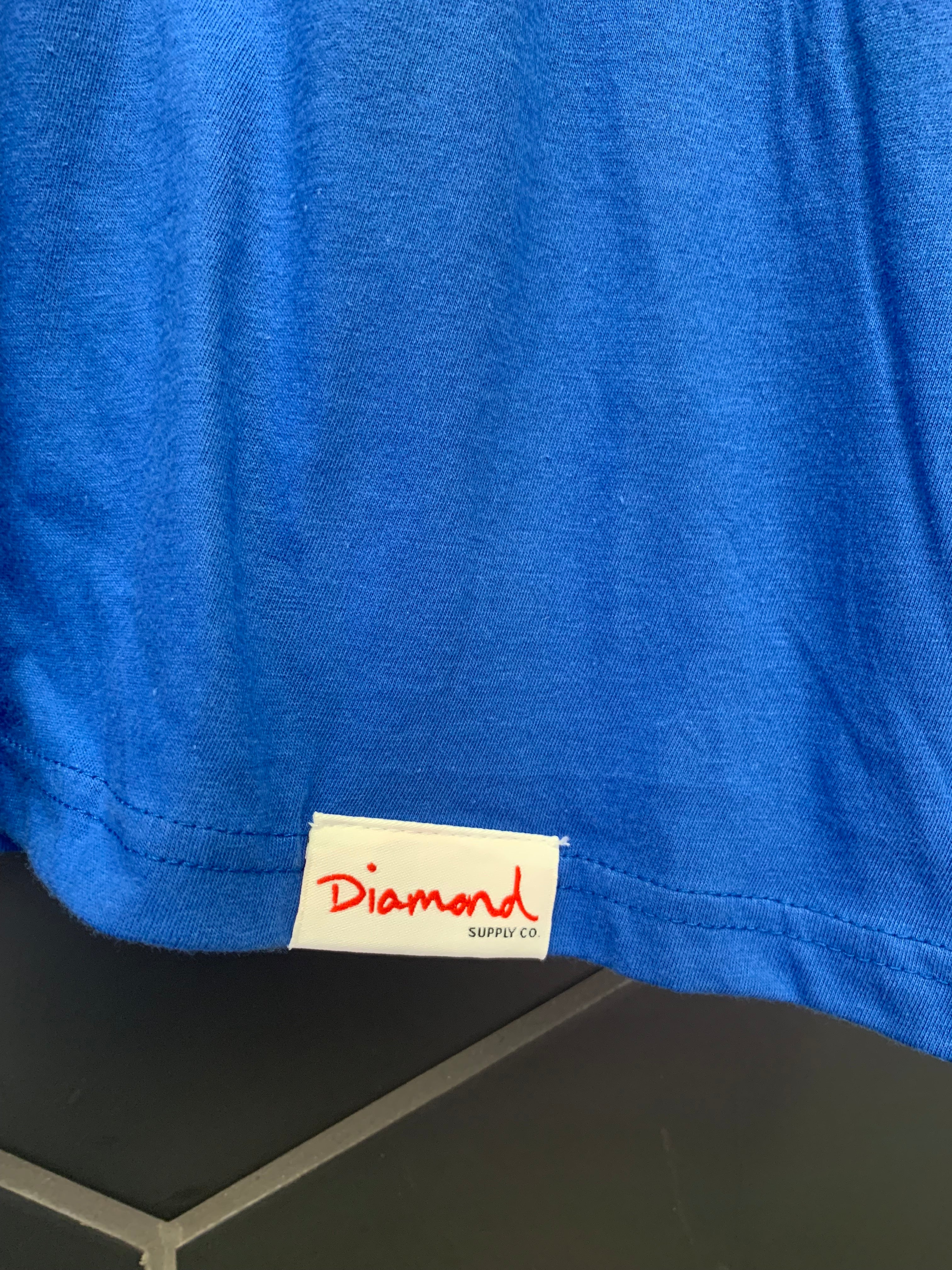 New! Diamond Supply Co Royal Blue World Championship S/S T-Shirt (Multiple Sizes)