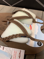 New! Womens Rainbow Sandals Flirty Braidy Expresso Brown (Multiple Sizes)