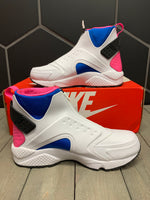 New W/ Box! Womens Nike Air Huarache Run Mid White Shoe Size 9.5