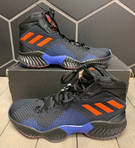 New W/ Box! Adidas Pro Bounce 2018 High Core Black Shoe Size 9