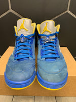 Used W/O Box! Air Jordan 5 Laney Shoe Size 11