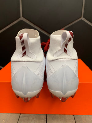 New W/ Box! Nike Vapor Untouchable Pro 3 White Cranberry Football Cleats (Multiple Sizes)
