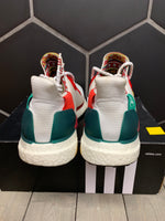 Used W/ Box! Adidas Pharrell x Solar Human Race Glide White Shoe Size 9.5