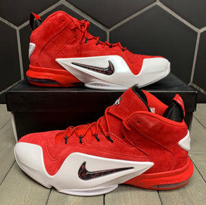New W/ Box! Nike Zoom Penny VI University Red Shoe Size 13
