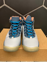 Used W/O Box! Air Jordan 10 GS Bobcat Shoe Size 7Y