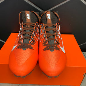 New W/ Box! Mens Nike Vapor Untouchable 2 PF Orange Brown Football Cleats (Multiple Sizes)