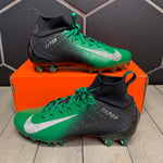 New W/ Box! Nike Vapor Untouchable Pro 3 Green Black Football Cleats (Multiple Sizes)