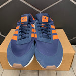New W/O Box! Adidas I-5923 Navy Orange Shoe Size 14