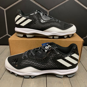 New W/O Box! Adidas Poweralley 4 TPU Molded Baseball Cleats Size 12.5