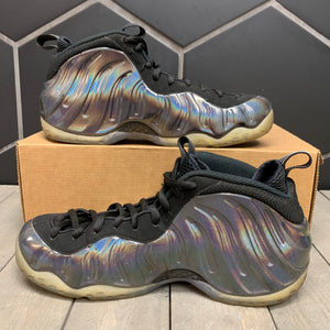Used W/O Box! Nike Air Foamposite One Hologram Shoe Size 9.5