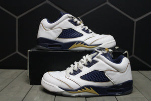 Used W/ Box! Air Jordan 5 Dunk From Above Size 10.5