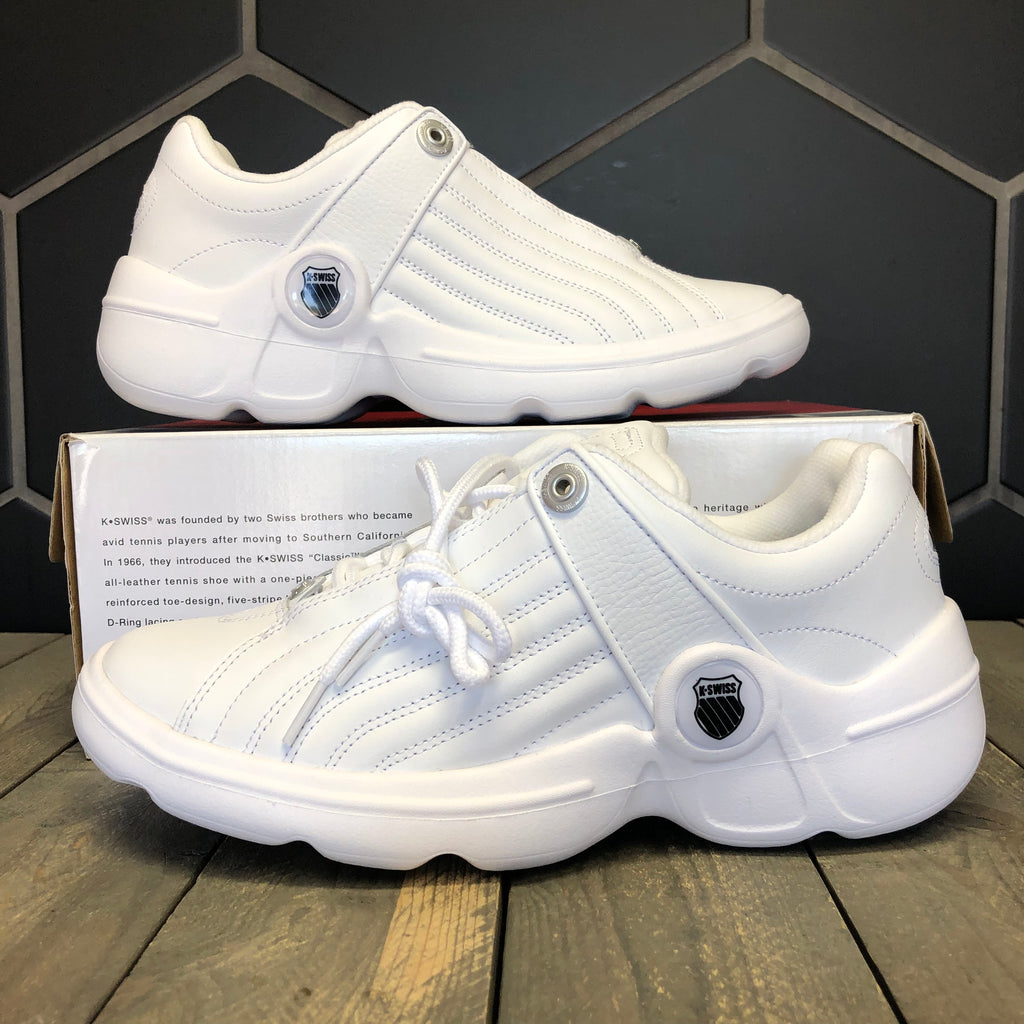 K-Swiss 'Chilton' White (Multiple Sizes)