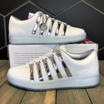 K-Swiss 'Classic 2000 LE' White/Chrome (Multiple Sizes)