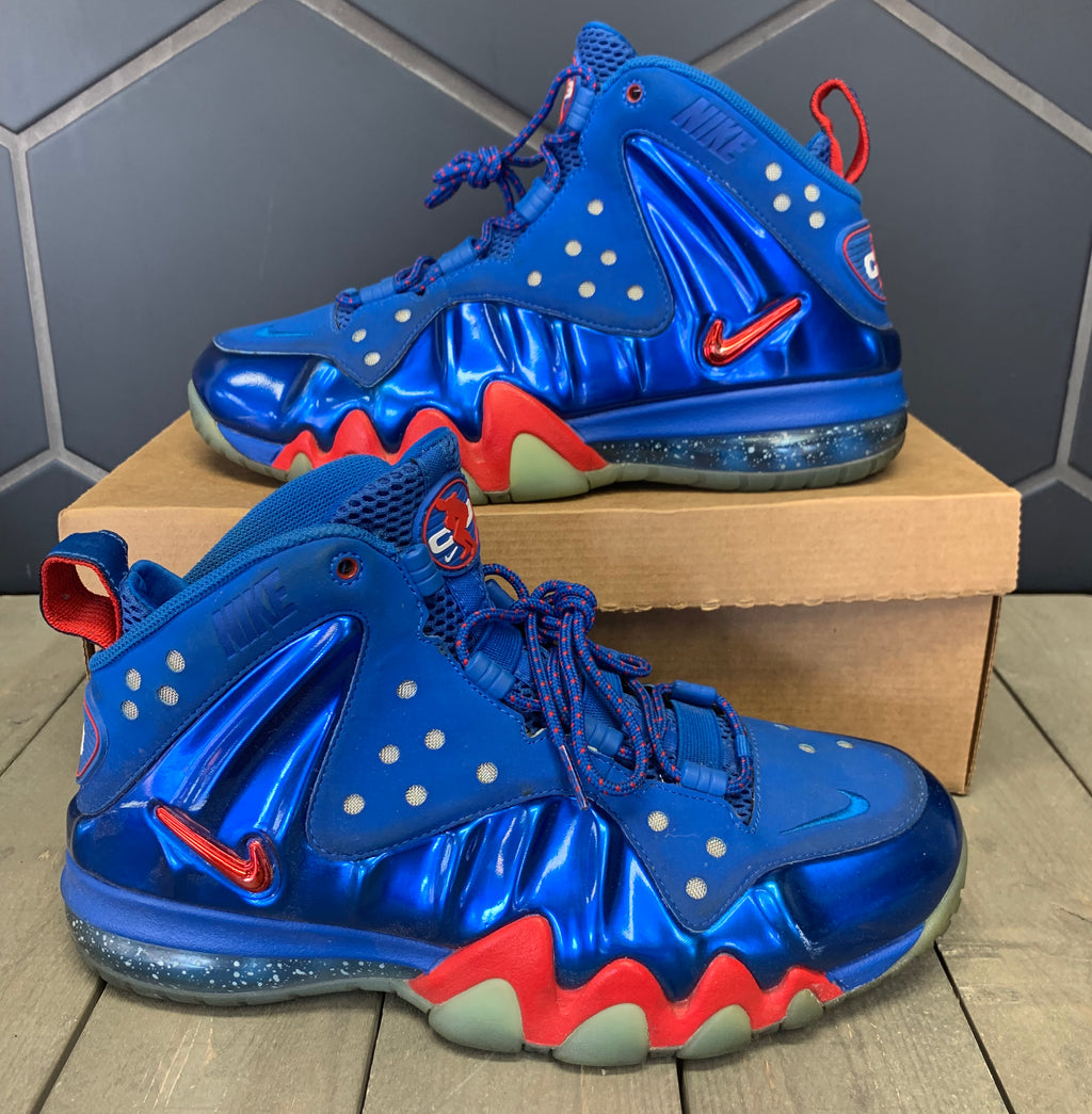 Used W/O Box! Nike Barkley Posite Max Sixers Size 8.5