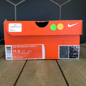 New W/ Damaged Box! Nike Metcon DSX Flyknit 2 White Volt Running Shoes (Multiple Sizes)