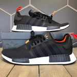 New W/ Box! Adidas NMD R1 Black Olive Running Shoes (Multiple Sizes)