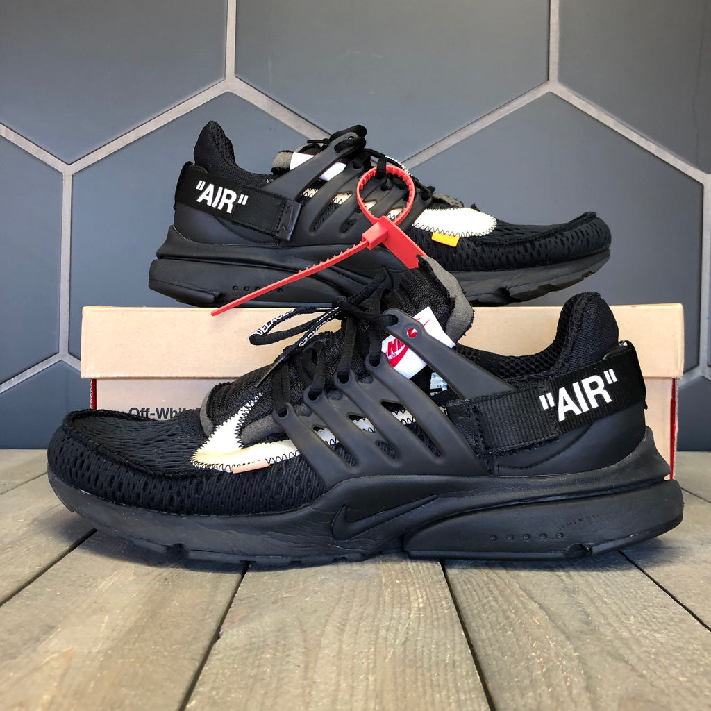 Used W/ Damaged Box! Nike x Off White Air Presto Black Size 13