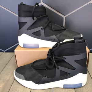 Used W/O Box! Nike Air Fear of God 1 High Black Size 13