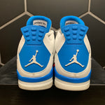 Used W/ Damaged Box! 2012 Air Jordan 4 Military Blue Size 13