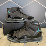 Used W/ Damaged Box! Youth Air Jordan 11 Gamma Blue GS Size 5.5Y