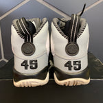 Used W/ Damaged Box! Youth Air Jordan 9 Baron Grey Size 5.5Y