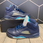 Used W/ Damaged Box! Youth Air Jordan 5 Pre-Grape Size 7Y