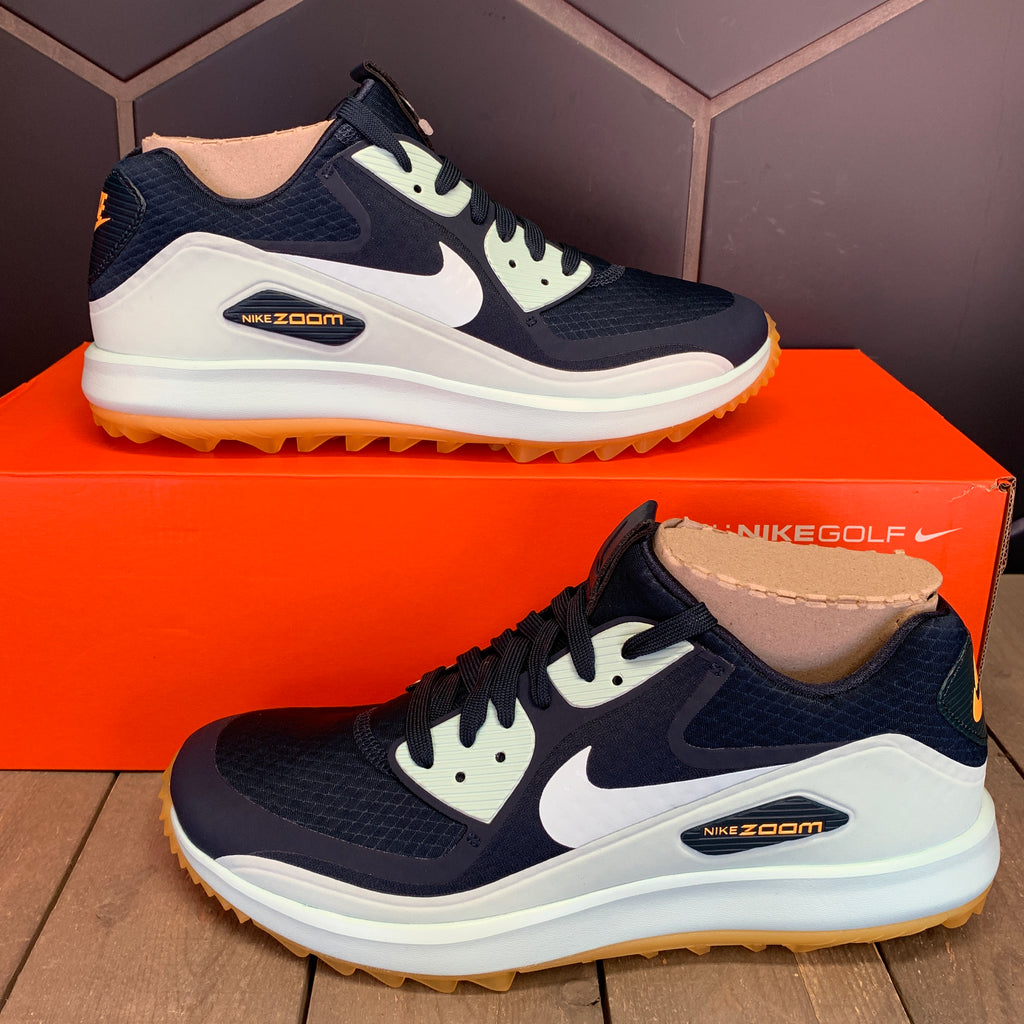 New W/ Box! Womens Nike Air Zoom 90 IT Golf Shoe Navy Igloo Gum (Multiple Sizes)