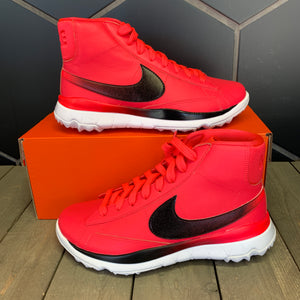 New W/ Box! Womens Nike Blazer Golf Shoes Solar Red Black (Multiple Sizes)