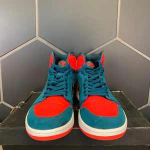 Used W/ Damaged Box! Air Jordan 1 High Russell Westbrook Size 13