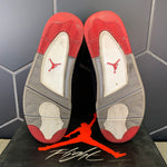 Used W/ Box! 2012 Air Jordan 4 Bred White Basketball Size 13
