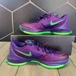New W/ Box! Nike Kevin Durant 8 Suit Purple Green Basketball (Multiple Sizes)