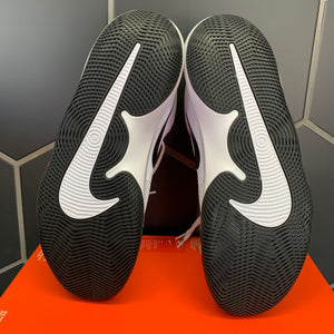 New W/ Missing Lid Box! Nike Air Precision White Black Basketball Shoes Size 13