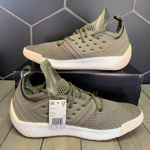New W/ Box! Adidas Harden Volume 2 Night Olive Cargo Basketball Shoes (Multiple Sizes)
