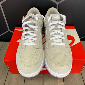 New W/ Box! Nike Dunk Low Pale Grey White Skate Shoe (Multiple Sizes)