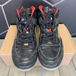 Used W/O Box! Air Jordan Spizike Stealth Black Grey Size 13