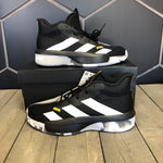 New W/ Box! Adidas Pro Next 2019 K Black Grey Basketball Shoes (Multiple Sizes)