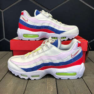 New W/ Box! Womens Nike Air Max 95 SE Corduroy Panache Running Shoes (Multiple Sizes)