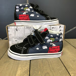 New W/ Box! Toddler Vans SK8 Mid Peanuts Flying Ace (Multiple Sizes)