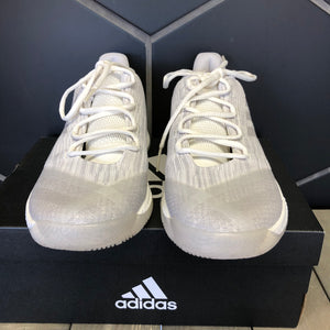 New W/ Box! Adidas Harden B/E 2 Cloud White Basketball Shoes Size 8
