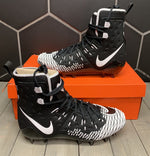 New W/O Box! Nike Force Savage Elite TD Black White Football Cleats (Multiple Sizes)